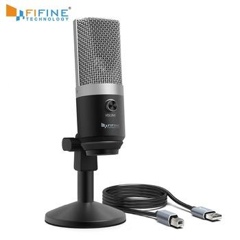 FIFINE mikrofon pojemnościowy usb do komputera profesjonalny mikrofon do nagrywania na Youtube Skype spotkanie gra jedna linia nauczanie 670-1 tanie i dobre opinie Blat Mikrofon elektretowy Mikrofon komputerowy Pojedyncze Mikrofon Jednokierunkowy Przewodowy K670 Uni-directional 50Hz-15Hz