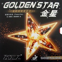 KTL GOLDEN STAR Fast Attack Black Pimples In Table Tennis PingPong Rubber with Sponge 2015 The new listing