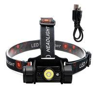 iTimo LED Headlamps IR Sensor Super Bright Induction Headlight Flashlight Lantern