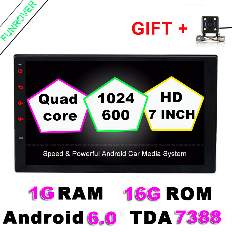 Android 6.0 2 din Car DVD player 2din GPS Bluetoot...