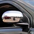 Внешний Chrome Аксессуары для dodge caliber фронта из боковой двери заднего вида заднего зеркало декоративная рамка наклейка обложка отделка