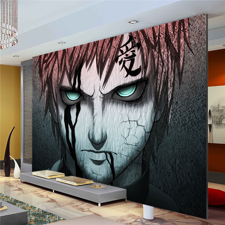 Anime Wall Art custom wallpaper picture - more detailed picture about japanese