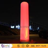 Lighting inflatable tube 2M / 7ft air tube light up toy for outdoor event party pool inflatable toys for decoration