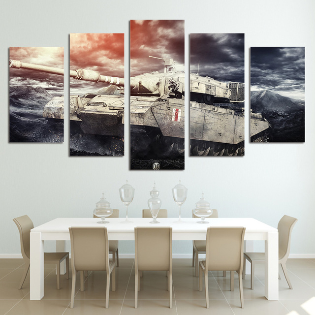 Modern Frames For Paintings Canvas Painting Cuadros Home Decoration ...