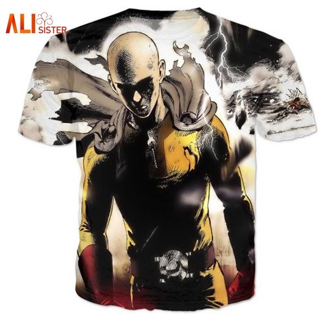 One Punch Man Men's Hipster 3D T Shirt
