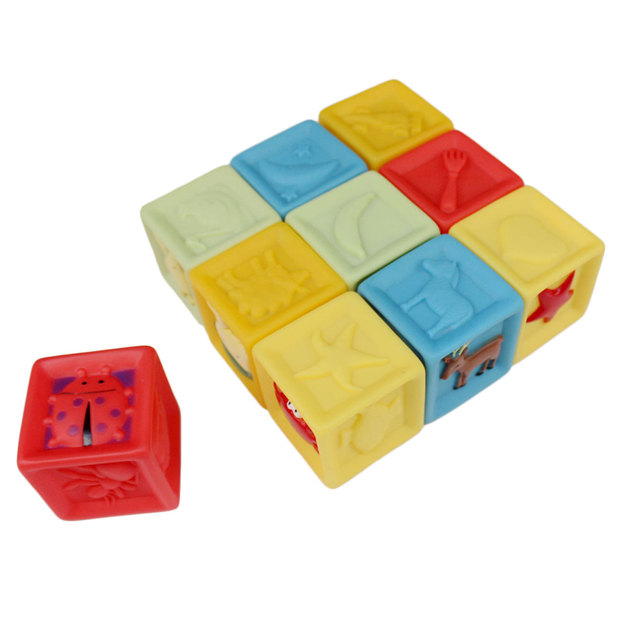 Baby Blocks Toys : Plastic baby building blocks shopbabyboom