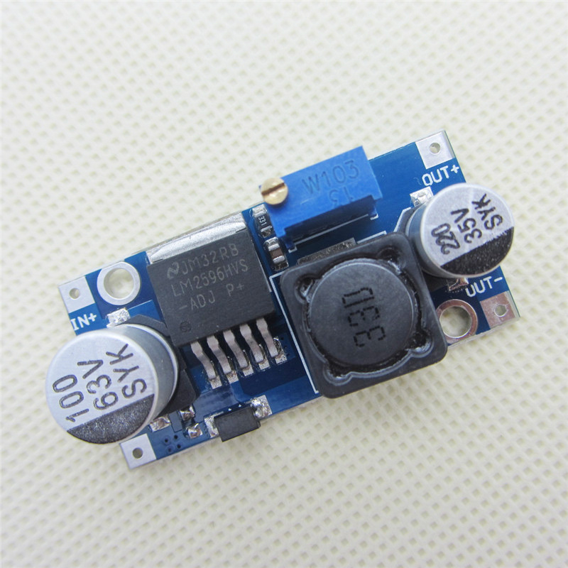 5 Pcs LM2596HVS LM2596HV DC-DC Adjustable Step Down Buck Converter Power Module 4.5-50V To 3-35V