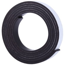 1 Meter Rubber Magnet 10*1.5 mm self Adhesive Flexible Magnetic Strip Rubber Magnet Tape width 10 mm thickness 1.5 mm(China)