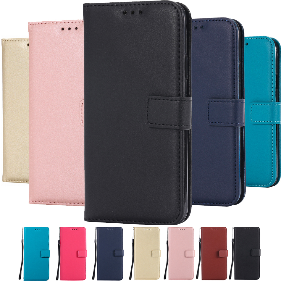 Plain Color Cover Leather Flip Wallet <font><b>Case</b></font> for <font><b>Samsung</b></font> <font><b>Galaxy</b></font> <font><b>Core</b></font> <font><b>Prime</b></font> <font><b>G360</b></font> G361F Grand <font><b>Prime</b></font> G530 J2 Pro 2018 Coque B300 image