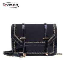 KYIDER Fashion Chain Strap Women Bag Handbag Designer Shoulder Bag PU Leather Crossbody Bags for Women Messenger Bags Purse(China)