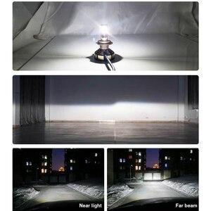 Image 2 - LSlight LED Phare H7 H4 H11 H1 9005 HB2 HB3 H8 H9 LED אוטומטי פנס הנורה 6000K 9600LM 72W 12V רכב אור דיודה קרח מנורת luces
