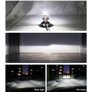 Image 2 - Lslight Led Phare H7 H4 H11 H1 9005 HB2 HB3 H8 H9 Led Auto Koplamp Lamp 6000K 9600LM 72W 12V Auto Licht Diode Ijs Lamp Luces