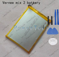 100 Original Mix 2 Battery Replacement 6 0inch Vernee Mix 2 Mobile Phone Battery
