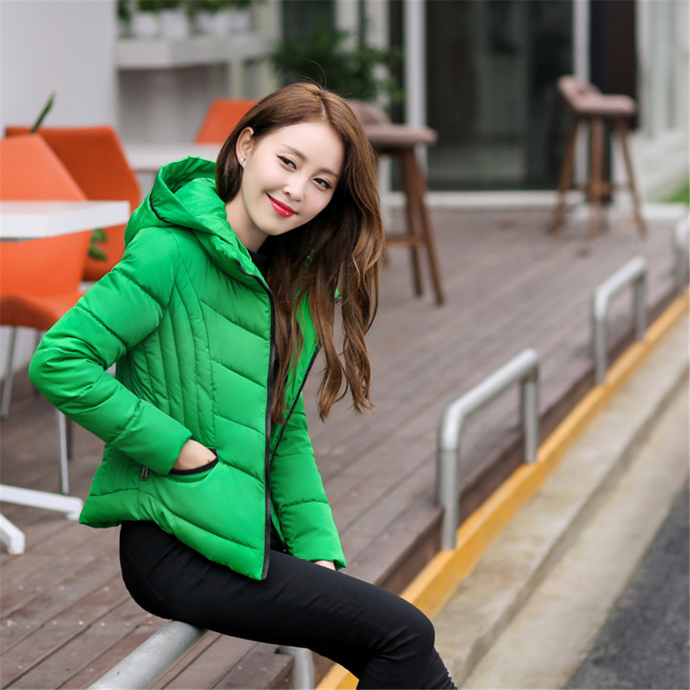 Factory direct 2016 autumn and winter new women's women's version of Slim short paragraph cotton padded cotton down jacket fashi