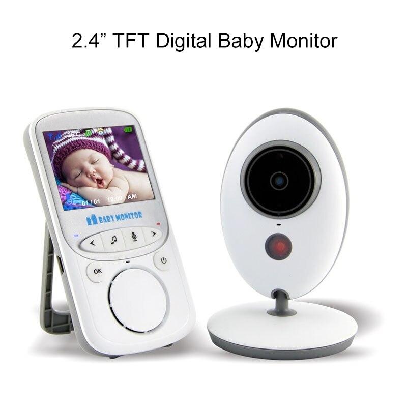 BabyKam 2.4 inch Digital Wireless Video Baby Monitor with Camera support Night Vision Temperature Monitors Intercom Vigilabebes