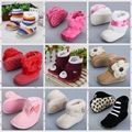 Lovely Appearance Baby Shoes Stylish Design Warm Baby Boots Comfortable Soft Soles Newborn Shoes  ST7291