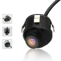 Universal Car Rear View Camera 360 Degrees Adjustable HD Color Night Vision For Parking Monitor DVD Free Shipping