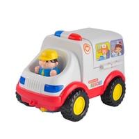 Hospital Rescue Ambulance Doctor Vehicle Set Plastic Cars Model Car Toys Pretend Doctor Set Medical Kit Inside Bump for Children