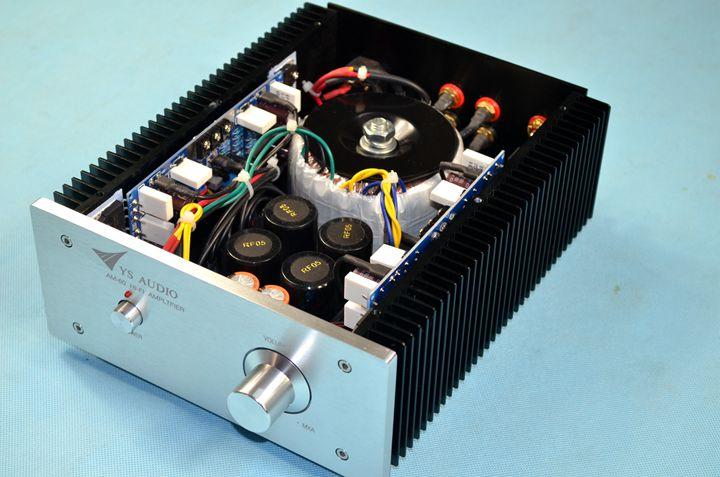 NEW Finished AM-60D hifi power stereo amplifier class AB 120W+120W finished 933 2sc3264 2sa1295 power amplifier hifi stereo 120w 120w audio amp reference german burmester 933 amplifier circuit