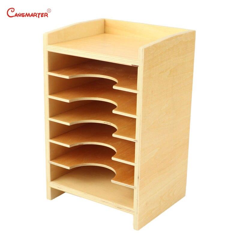 Montessori bois jouet éducatif géométrique carte armoire enfants préscolaire Montessori matériaux boîte sensorielle jouets enfants SE040-3