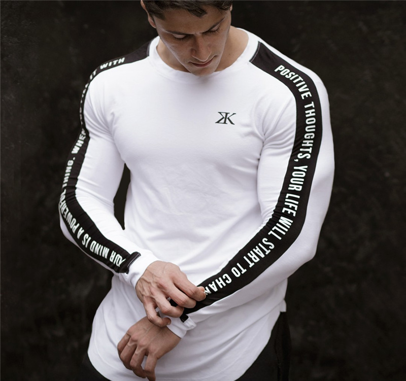 Long Sleeve White T-Shirt  2