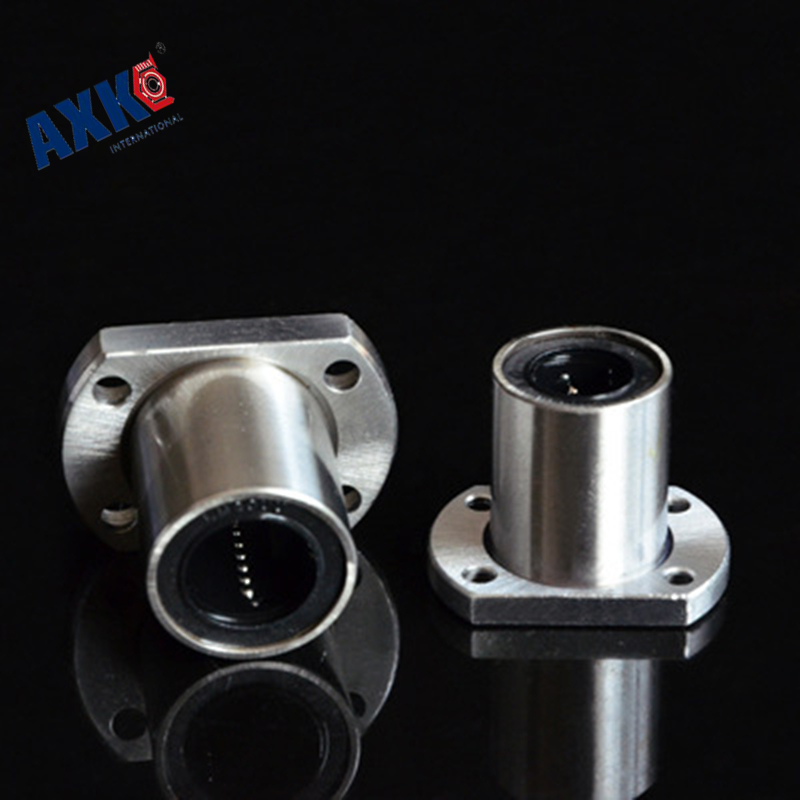 2017 Thrust Bearing Rodamientos Lmh8uu Lmh8 8mm Round Flange Linear Ball Bearing Bushing For Shaft Guide Rail Rod Cnc Parts genuine ud engine parts fd46 fd46t main crankshaft bearing con rod bearing connecting rod bushing