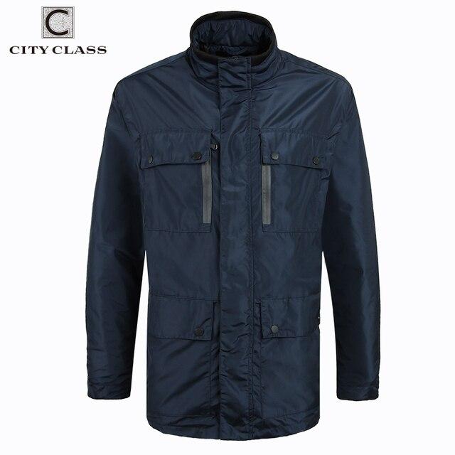 CITY CLASS 2017 мужские ветровки большие Размеры 3XL-6XL Куртки и Пальто и пуховики легкий Вес Mutlti пакеты светоотражающие куртка 3893