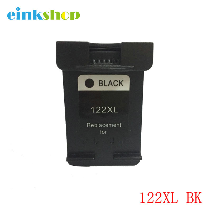 Einkshop Marca 122 122XL Cartucho de Tinta Compatível para HP Deskjet 1000 1050 2000 2050 1510 3050 3000 3050A 1510 2540 impressora