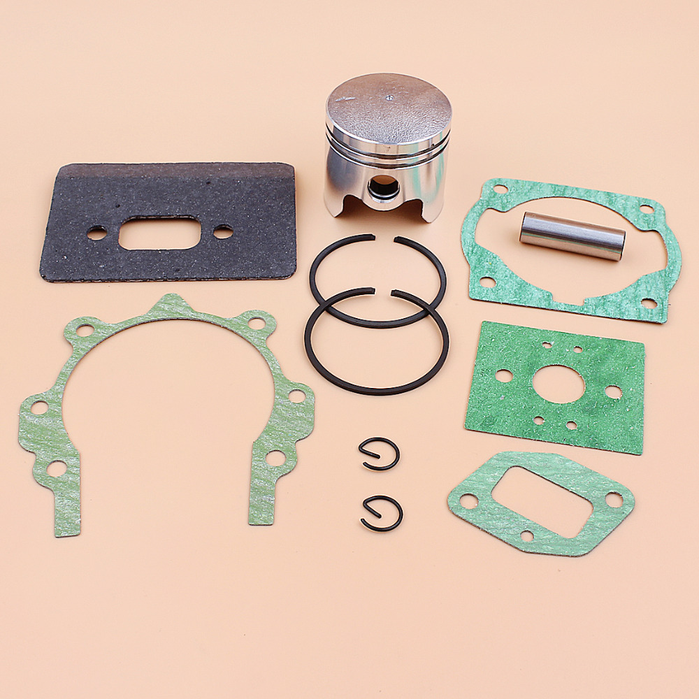 40mm Piston Rings Full Gasket Kit For 43cc 40-5 BC430 CG430 1E40F-5 Mitsubishi TL43 Engine Brushcutter Trimmer 10mm Pin