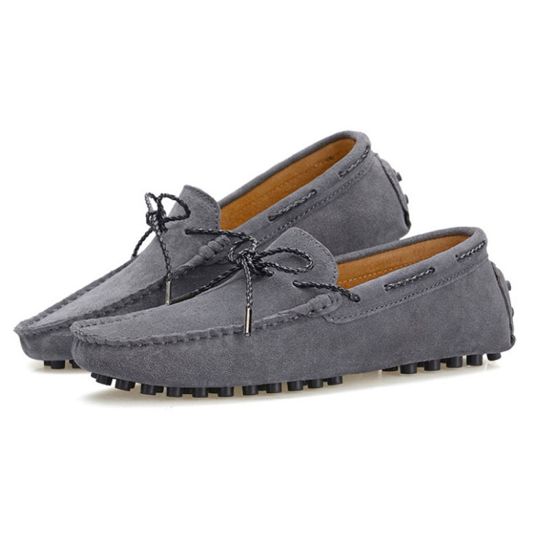 Men's Leather Moccasin-gommino Flat Slip-on Loafers Driving Shoes