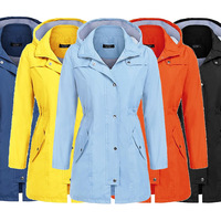Waterproof Jacket Coat Parka Women