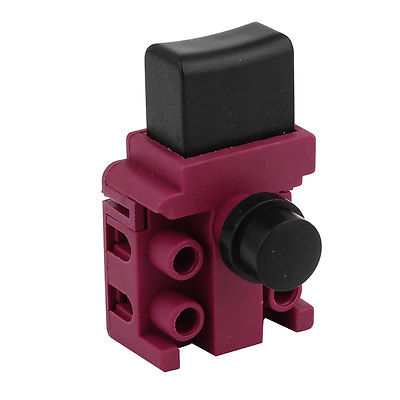 AC 250V 6A DPST Trigger Switch Pink For Makita 5016 Electric Chain Saw