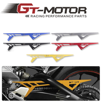 GT Motor Free Shipping Motorcycle MT09 FZ09 CNC Aluminum Chain Guards Cover Protector For Yamaha MT