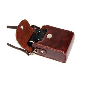 Image 4 - Retro Camera Leather Case Bag for SONY RX100 VII VI V VA IV III II HX90V HX90 HX80 HX99 HX95 HX60V HX50 HX30 HX20 HX10