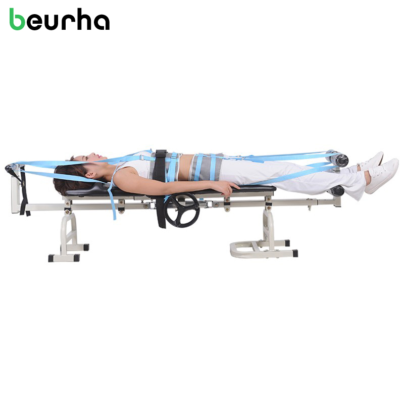 New Therapy Massage Bed Table Cervical Lumbar Traction Bed