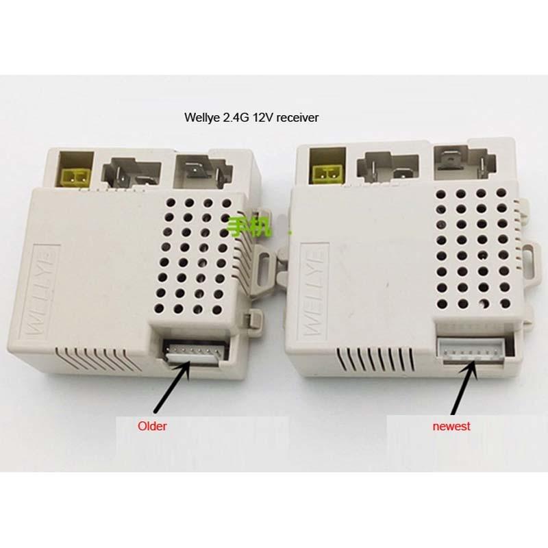 Wellye 7 Pins 2 4g 12v Child Bluetooth Electric Motor Car Remote