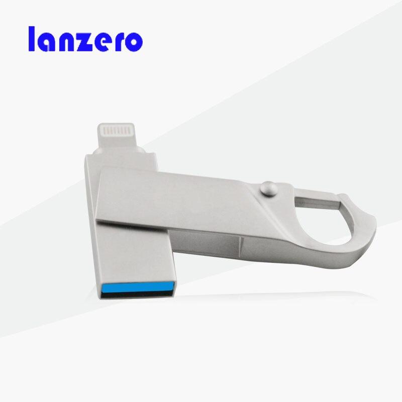 Prix pour Je-lecteur flash 16g 32 gb 64 gb micro usb pen drive foudre/otg usb flash drive pour iphone 5/5s/5c/6/6 plus/ipad/iphone 7 pendrive