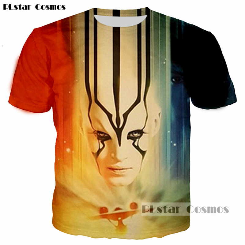 PLstar Cosmos Hipster Sci-fi movie Star Trek 3D printed t-shirt Women/Men Leisure tshirt Mans funny hip hop t shirt tees tops