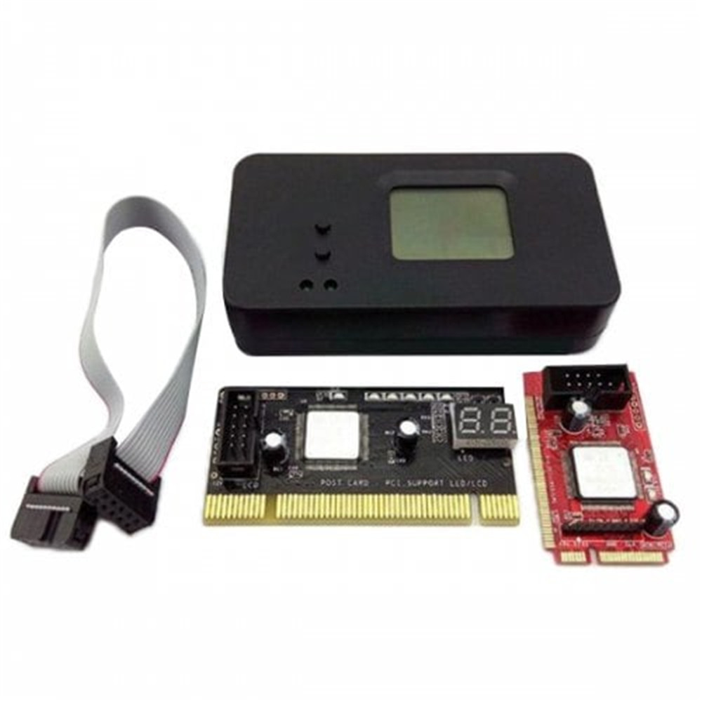 For Laptop/Desktop Analyzer Diagnostic Card Mini PCI-E PC PCI Diagnostic Board Test Tester PC Debug Post Card Tool