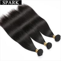 Spark Brazilian Straight Hair Bundles Natural Color 1 3 4PCS 100 Human Hair Weave Bundles 8