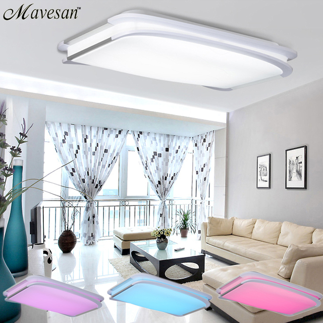 Buy 2016 NEW Modern RGB Ceiling Light RGB Cool White Warm Wh