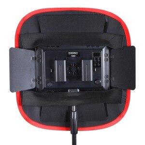 Image 3 - Meking collapsible softbox 40*40cm yongnuo yn600 yn900 led 라이트 패널 휴대용 조명 modifier 스튜디오