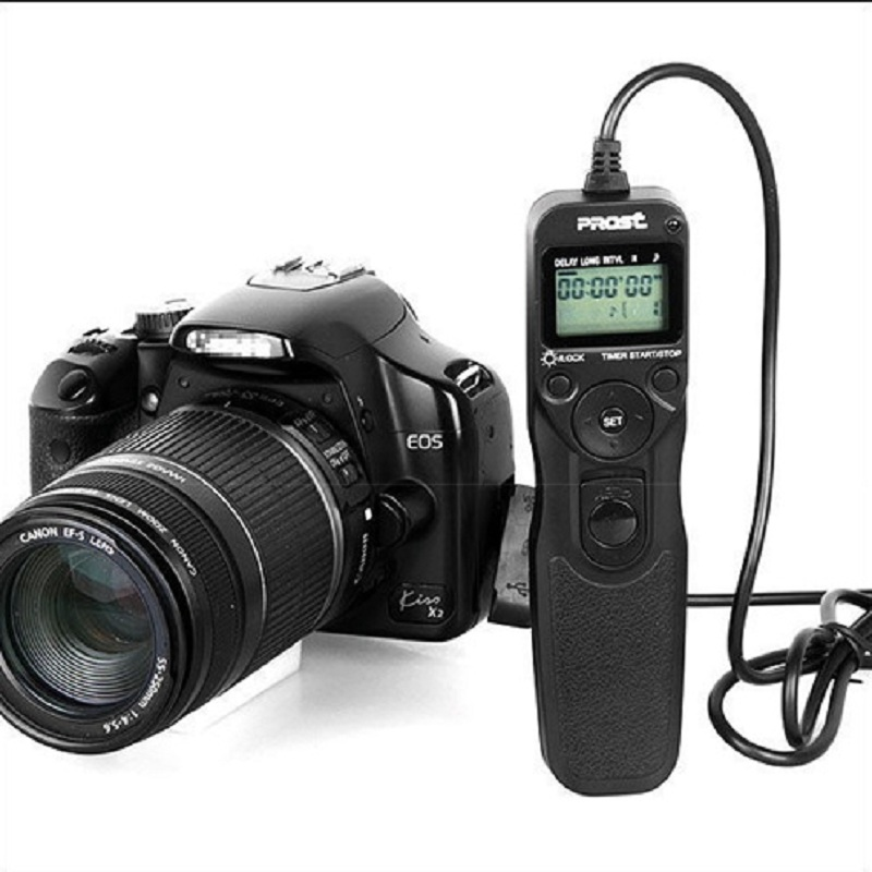 Prost Mc C1 Timer Remote Shutter Release Cord Cable For Canon 700d