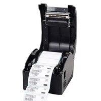 Hohe qualität USB port Thermische aufkleber barcode-drucker Etikettendrucker für Supermarkt, milch tee shop, restaurant