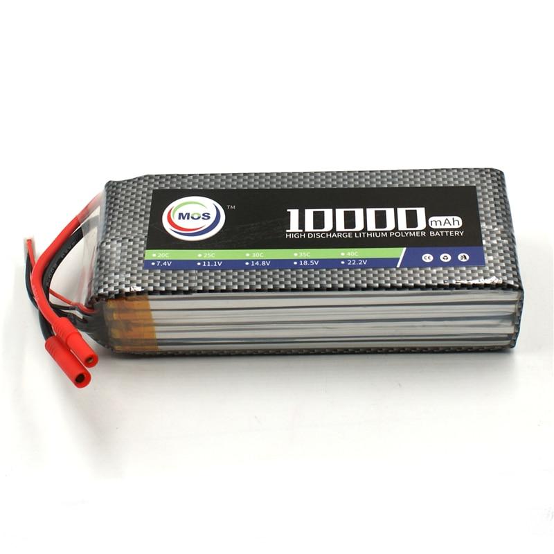 все цены на MOS 4S 14.8v 10000mah 25C RC LiPo Battery for RC airplane drone Free shipping
