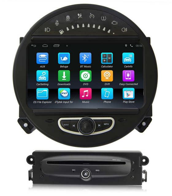 US $619 0 |Android 5 1 Car DVD Player GPS Navigation for BMW Mini Cooper  2006 2013 with Radio Bluetooth USB SD AUX Stereo 3G WiFi 4Core-in Car