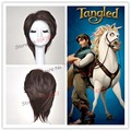 Free shipping Tangled Prince Flynn Rider Cosplay from Tangled Custom cosplay wig made for festival