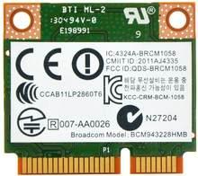 BroadCom BCM943228HMB BCM43228 300 Мбит/с мини PCI-e WIFI Wlan Bluetooth4.0 карта