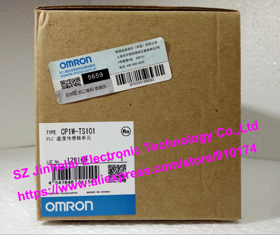 New and original CP1W-TS101  OMRON PLC Temperature sensor unit new and original e3x da11 s omron optical fiber amplifier photoelectric switch 12 24vdc