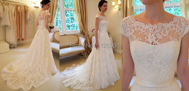 Aliexpress.com : Buy 2017 New Vintage A Line Lace Wedding